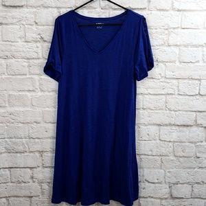 Apt 9 Open Shoulder T-shirt Dress